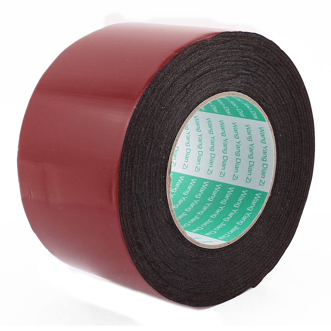 Unique Bargains Black Strong Double Sided Adhesive Tape Sponge Tape 80MM Width 5M Long