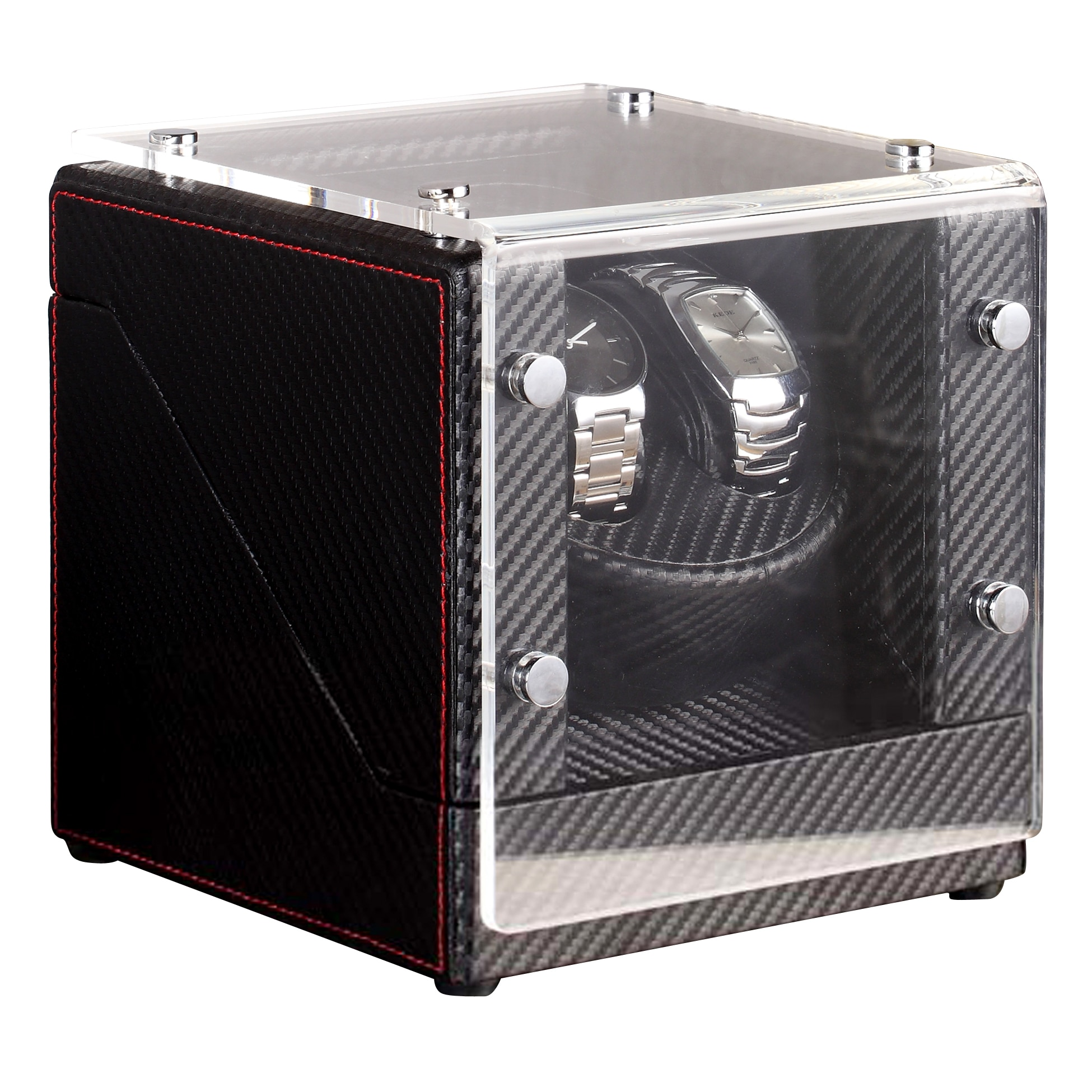 Nathan Direct Race 2 Black Watch Winder/ Display Case