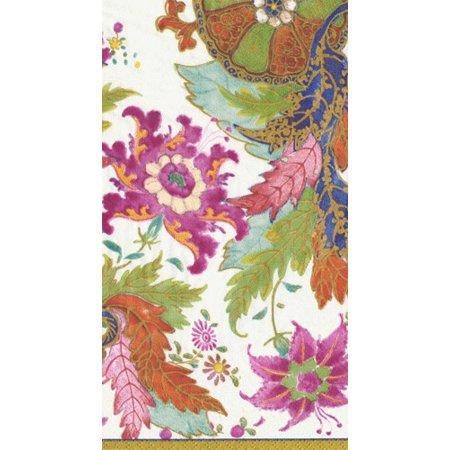Paper Guest Towel Napkins 15pk 13130G Tobacco Leaf Ivory
