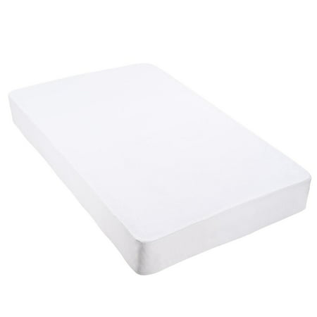 Waterproof Fitted Mattress Protector - Yescom Cotton Terry Mattress Protector Waterproof Vinyl Free Anti Mite Dust Fitted Cover King/Queen/Full/Twin Size Opt