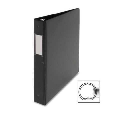 Business Source 3-Ring Binders w/ Label Holders - 1
