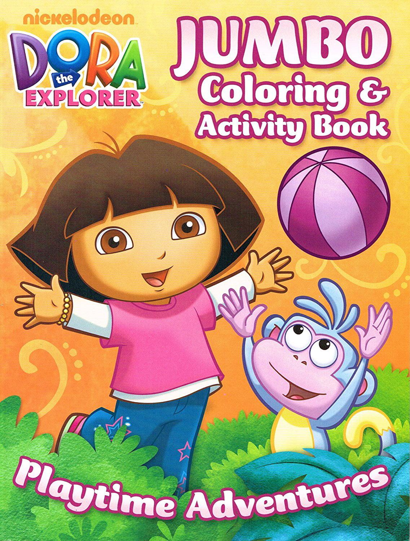 Dora the Explorer Coloring Book Set (2 Coloring Books), Delight your Dora the Explorer fan... by