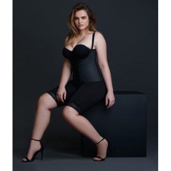 9ef874a08 Squeem - Squeem Sensual Curves Extra Firm Control Open-Bust Bodysuit -  Walmart.com