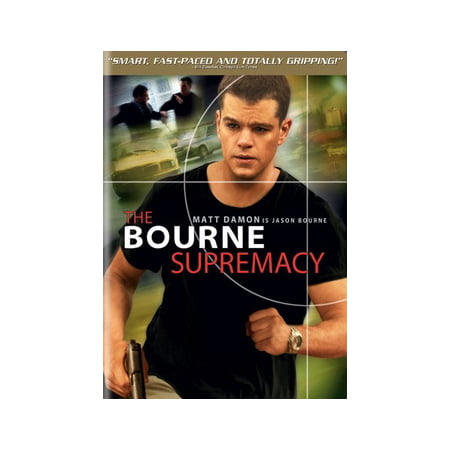 4a91487e6 The Bourne Supremacy (DVD)