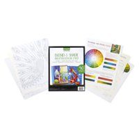 Crayola Signature Blend & Shade Inspiration Drawing Pad, 40 Pages