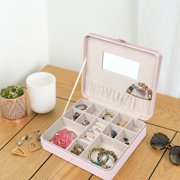 Hives & Honey Cori Blush Jewelry Organizer Travel Case