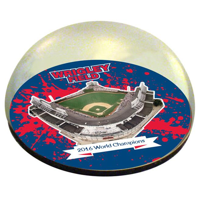 Paragon Innovations Wrigleymagwc 2 in. Chicago Cubs MLB 2016 World Champions Wrigley Field Crystal Magnet
