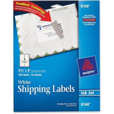 Avery Shipping Label AVE8168