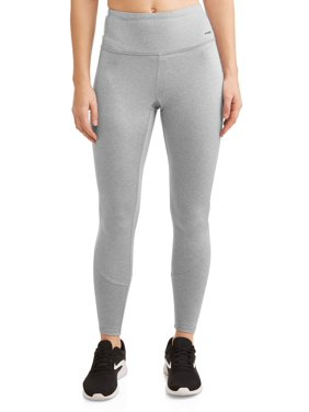 Women's Active Brushed Back Legging With Reflective Art