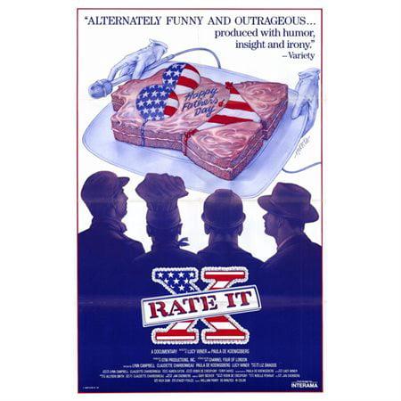 Rate It X Poster Movie Mini Promo