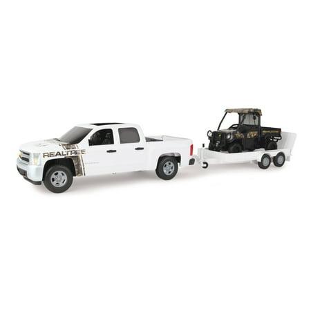 - Big Farm 1:16 RealTree Chevrolet Pickup with John Deere Gator