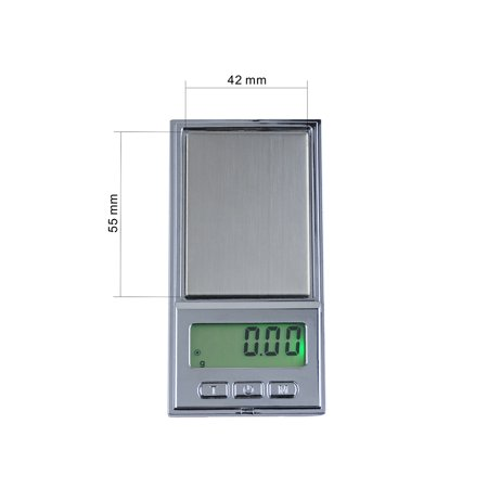 200g/0.01g High Accuracy Electronic Balance Pocket Scale Mini LCD Digital Jewelry Scales Weighing Tool - image 2 of 7