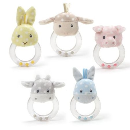 Gund Roly Polys Ring Rattle Assortment for $<!---->