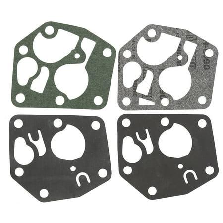 Oem Engine Gasket Kit (HIPA Carburetor Diaphram Gasket Kit For Briggs & Stratton 3 thru 3.75 HP vertical engines 495770 272372 281028 795083 Carburetor Diaphram)