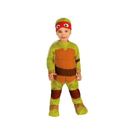 Ninja Turtle Raphael Baby Costume - Baby Ninja