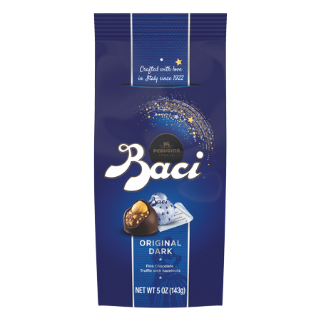 - Baci Perugina Original Dark Chocolate Truffle Bag, 5 Oounce (143 g)