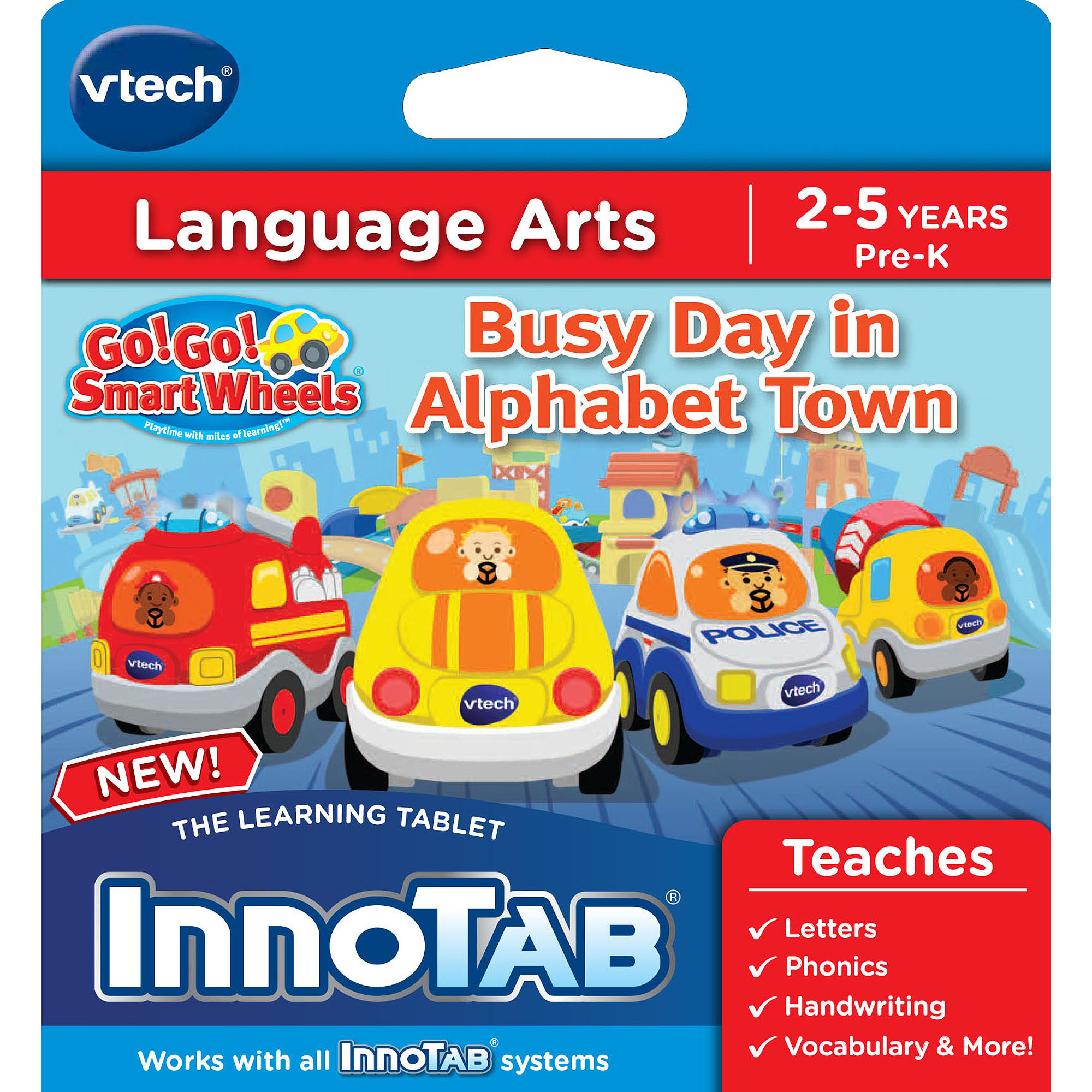 VTech InnoTab Software, Go! Go! Smart Wheels