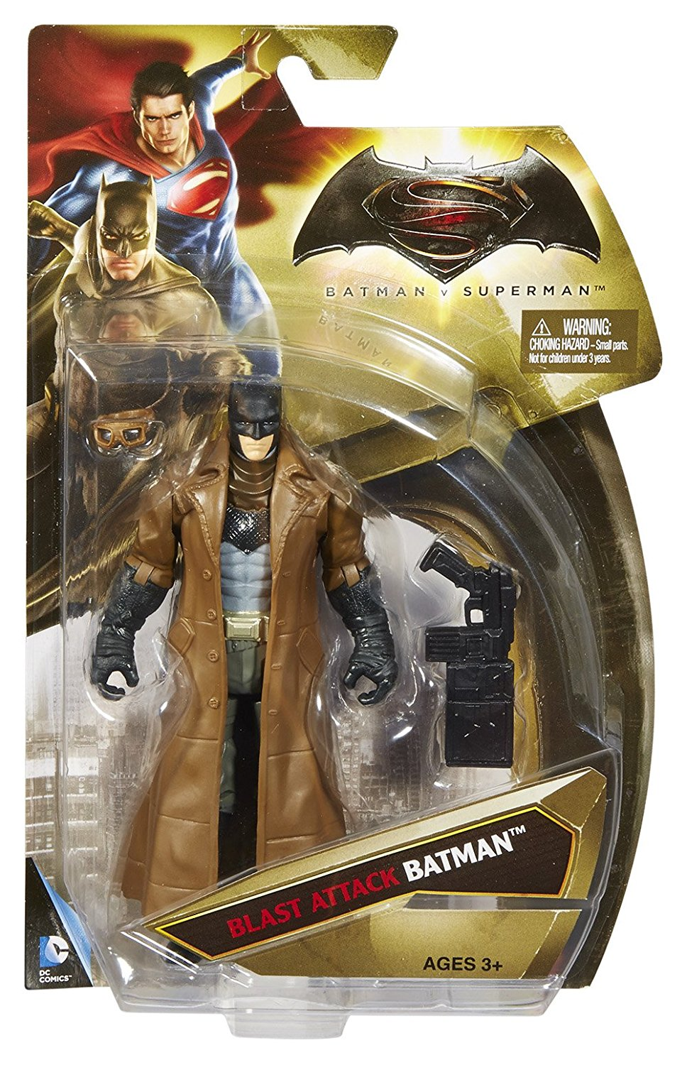 Batman v Superman: Dawn of Justice, Blast Attack Batman, 6 Inch Action Figure, Inspired by... by
