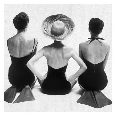 Masterpiece Art Gallery 1950's Swimsuit Models By Graffi-tee Studios Canvas Art Print 20