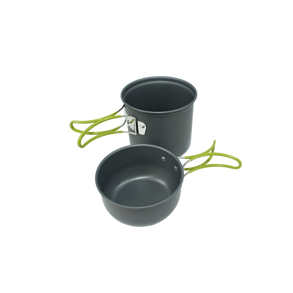Osage River Mess Kit with Stove and Utensils Cookware