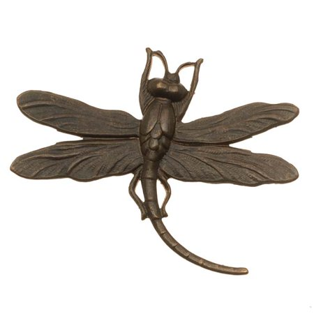 Vintaj Natural Brass Stamping Art Deco Dragonfly Pendant 35 x 47mm (1)