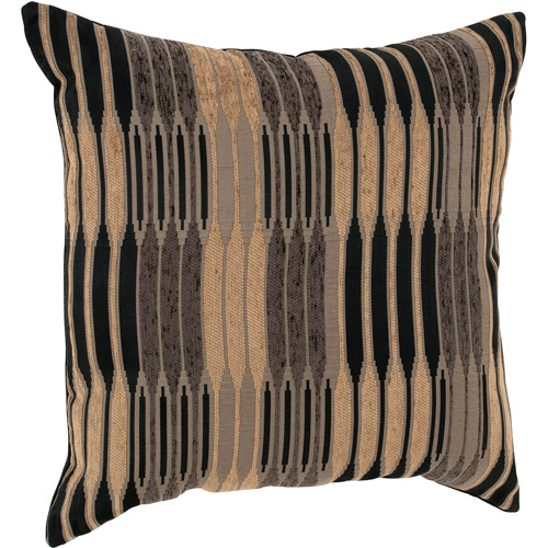 "Better Homes and Gardens Varigated Stripe Decorative Toss Pillow 22""x22"""