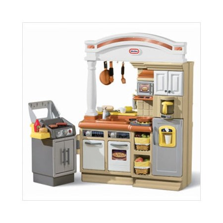 Little tikes sizzle and serve kitchen set for Kitchen set little tikes