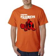 770 - Unisex T-Shirt Finding Francis Deadpool Nemo Parody 2XL Orange