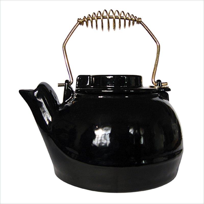 Uniflame 2.5 Quart Black Porcelain Coated Kettle