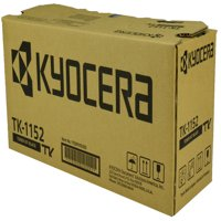 OEM Kyocera Mita TK-1152 (1T02RV0US0) Toner Cartridge, BLACK, 3K YIELD - for use in Kyocera Mita M2135DN printer, M2635DW printer, P2235DN printer, P2235DW
