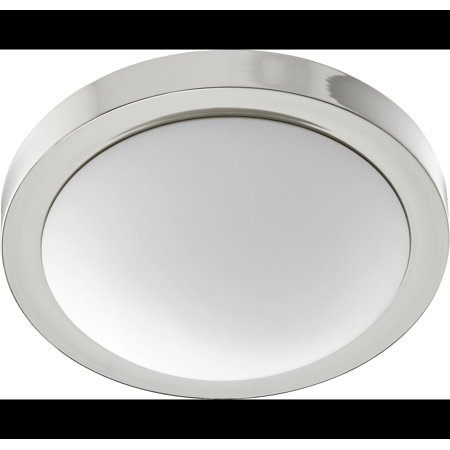 Quorum Ceiling Mount 13   2 Light Flush Mount In Polished Nickel