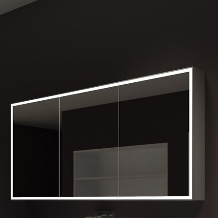Paris Mirror Galaxy 60 X 28 Surface Mount Medicine Cabinet With Led