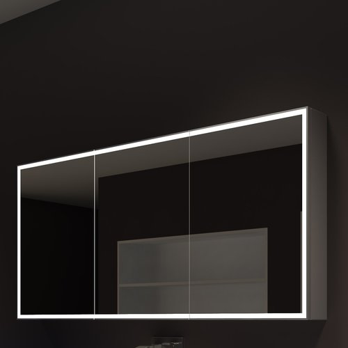 Paris Mirror Galaxy 60u0027u0027 X 28u0027u0027 Surface Mount Medicine Cabinet With LED