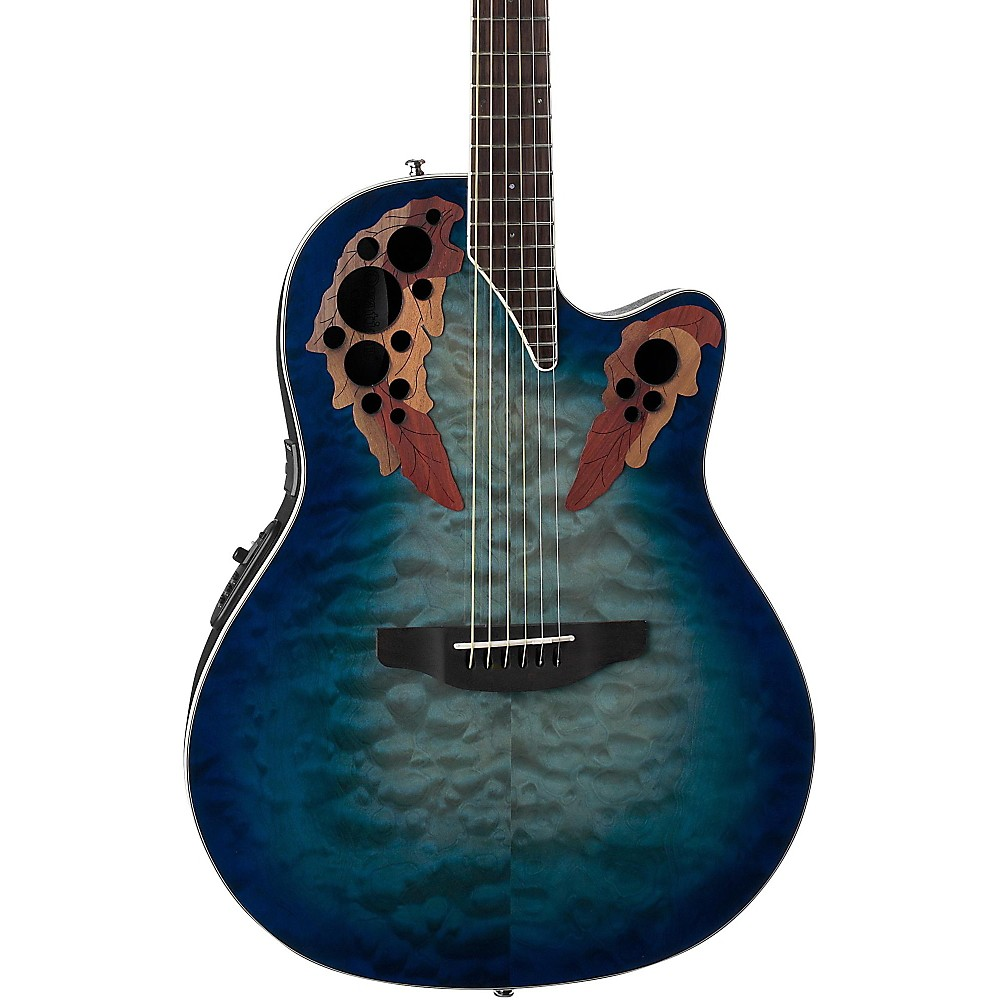 Ovation CE48P Celebrity Elite Plus Acoustic-Electric Guitar (Regal to Natural)