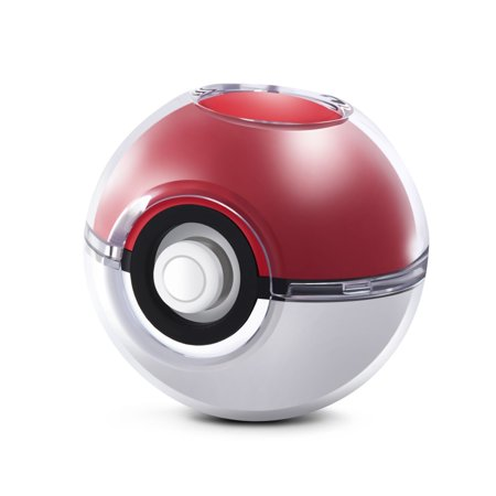 Clear Plastic Beach Balls (Crystal Protective Hard Plastic Cover Case For Nintendo Poke Ball Plus for Pokeball Accessories,Travel Bag Pokemon Game:Let's Go,Pikachu,Eevee! By Insten -)