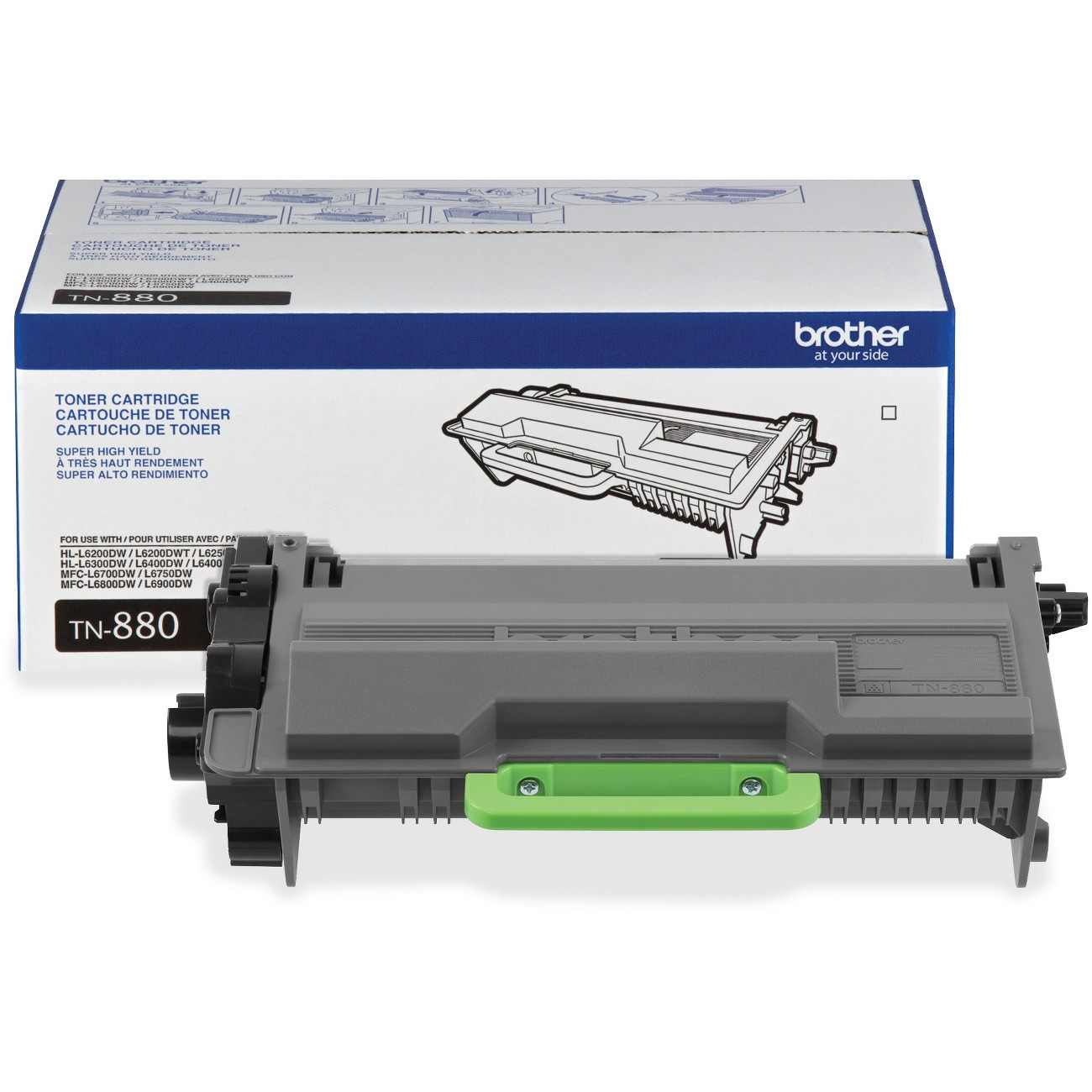 Brother TN880 Tn880 Super High-Yield Toner, Black