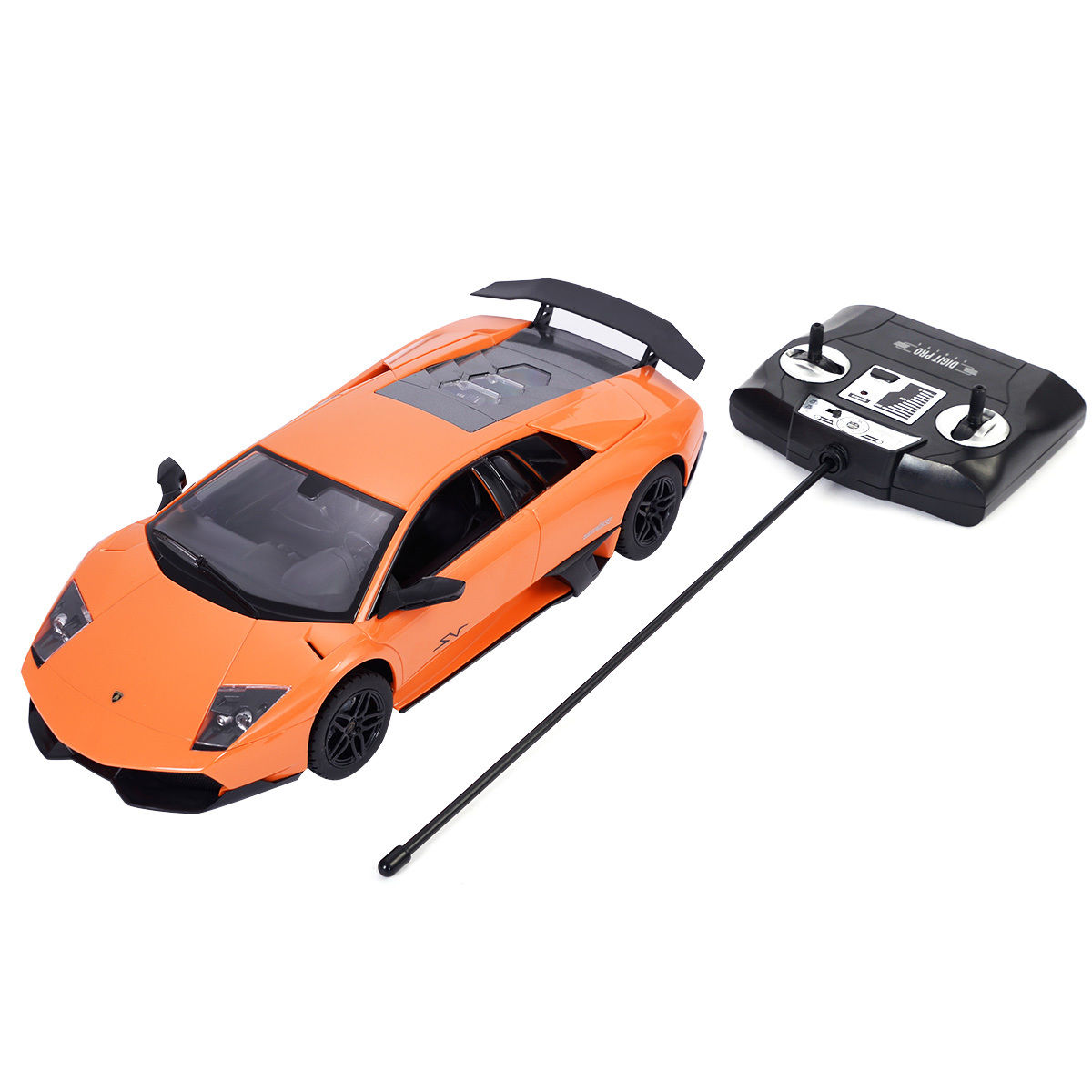 GHP 1/14 Scale Orange Lamborghini Murcielago LP670-4 Radio Remote Controlled Toy Car