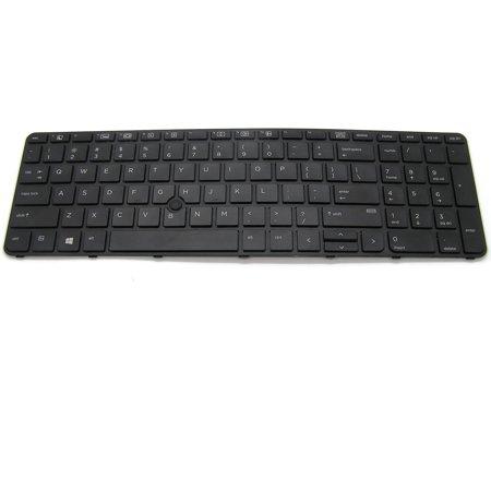 Genuine HP ProBook 650 655 G2 Keyboard Backlit With Frame 6037B0115301 841145-001