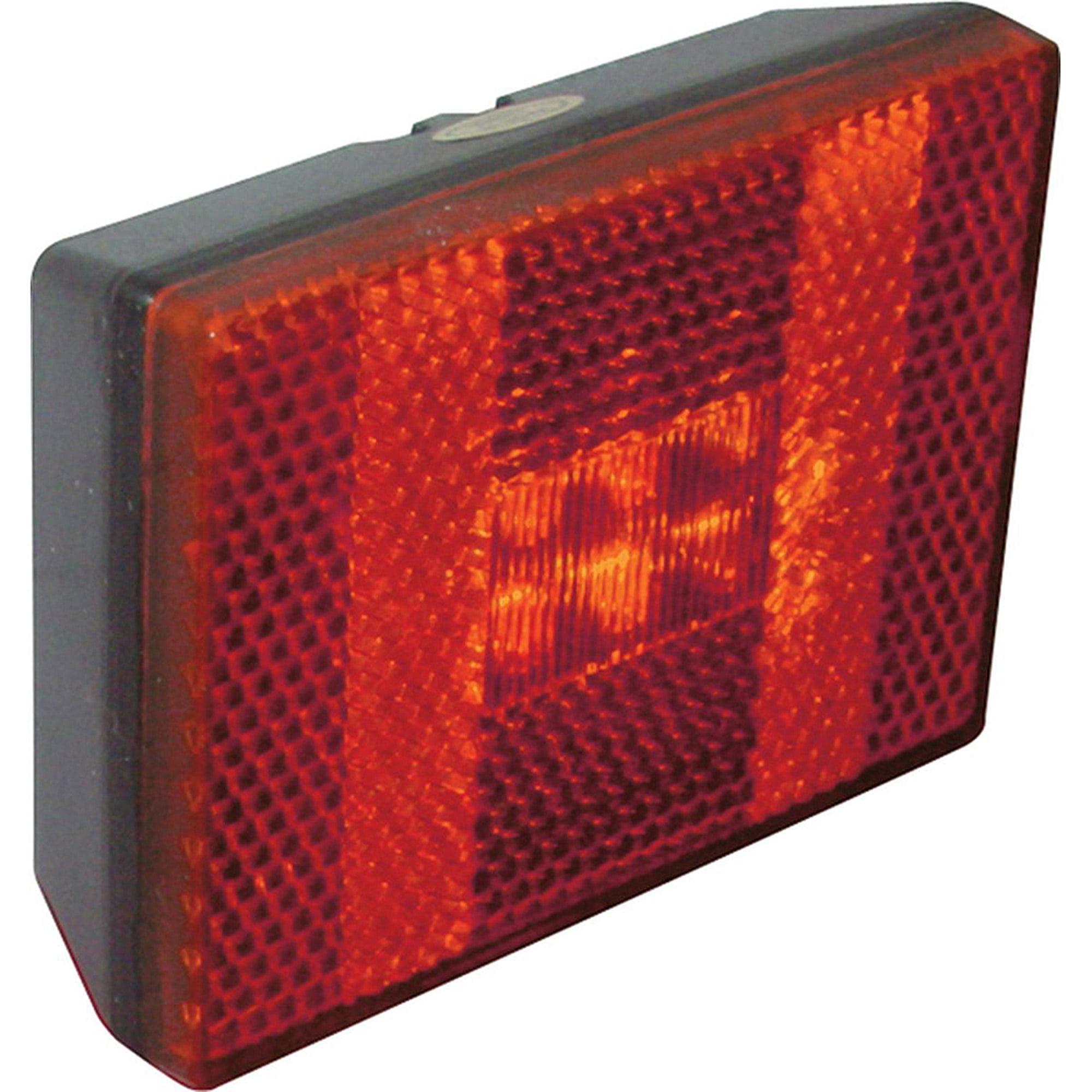 "SeaSense LED 12 Volt Stud Mount Clearance Lights, 5"" Pigtail, Red"