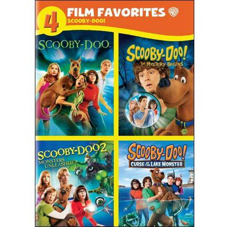 4 Film Favorites: Scooby-Doo! - Scooby-Doo / Monsters Unleashed / The Mystery Begins / Curse Of The Lake Monster (Widescreen)