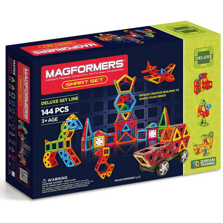 Magformers Smart 144-Piece Magnetic Construction Set