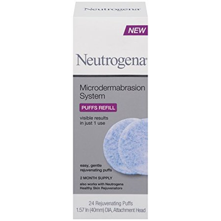 - Neutrogena Microdermabrasion System Puff Refills, 24 Count Each