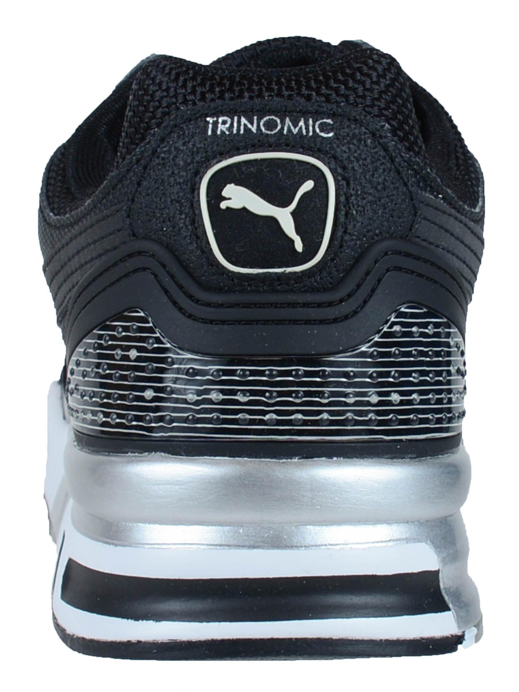 PUMA TRINOMIC XT2 PLUS RETRO RUNNING SHOES BLACK 357006 01