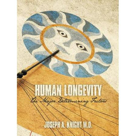 Human Longevity: the Major Determining Factors - eBook
