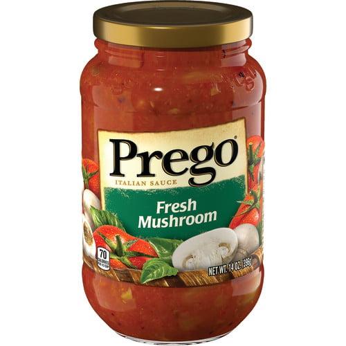 Prego Fresh Mushroom Italian Sauce, 14 oz.