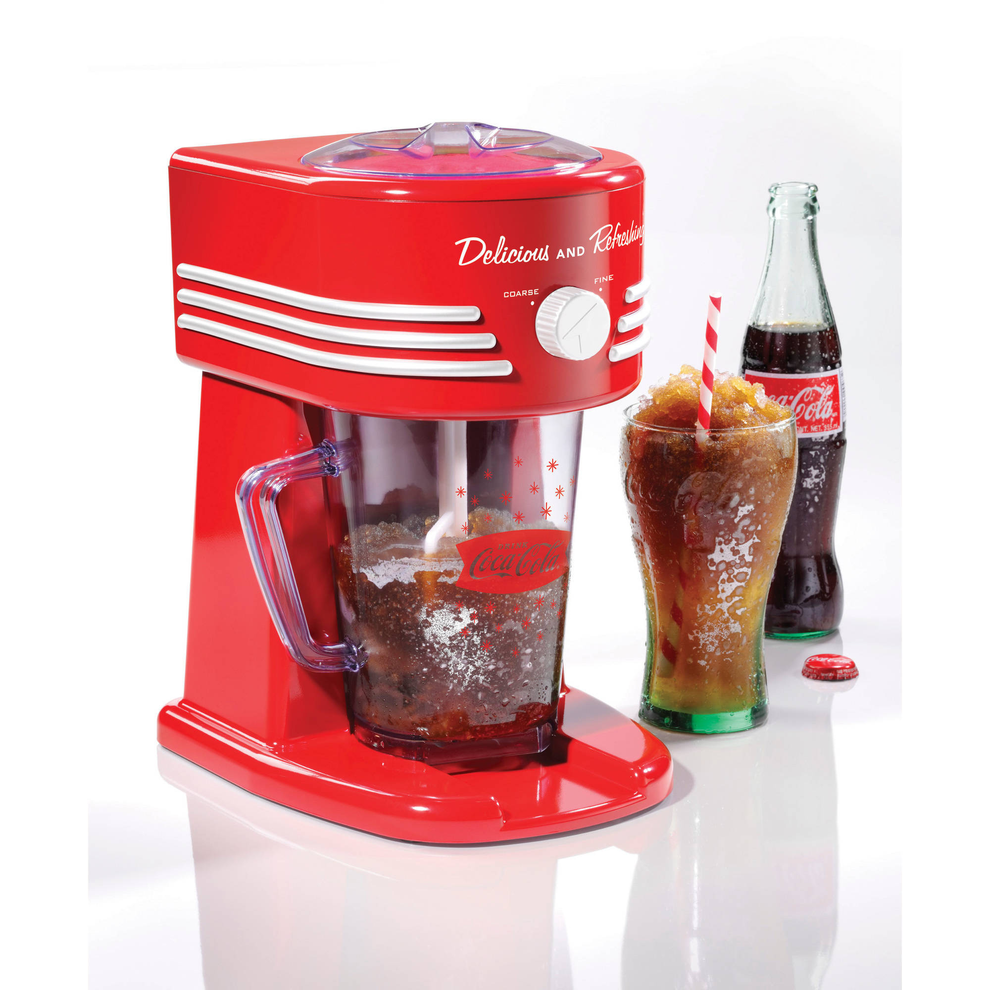 Nostalgia FBS400COKE Coca-Cola 40 oz Frozen Beverage Station