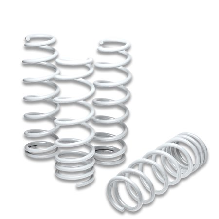For 2000 to 2009 Honda S00 Suspension Lowering Spring (White) - AP1 AP2 S2K 01 02 03 04 05 06 07 08