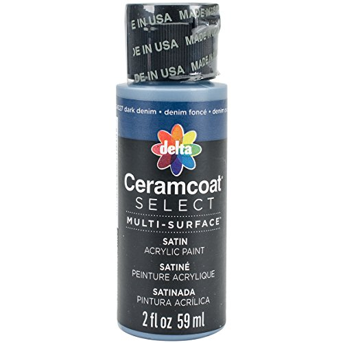 Ceramcoat Select Multi-Surface Paint 2oz-Dark Denim