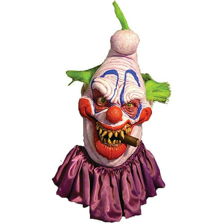 Big Boss Clown Mask Adult Halloween Accessory (Big Lots Halloween Masks)
