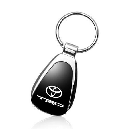Toyota TRD Keychain & Keyring - Black Teardrop
